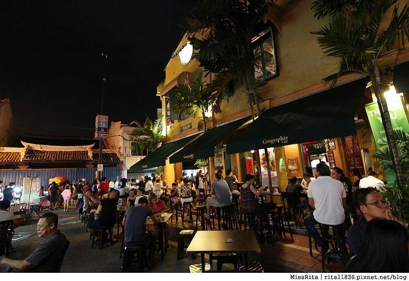 馬來西亞 馬六甲好玩 雞場街 雞場街夜市 地理學家咖啡館39