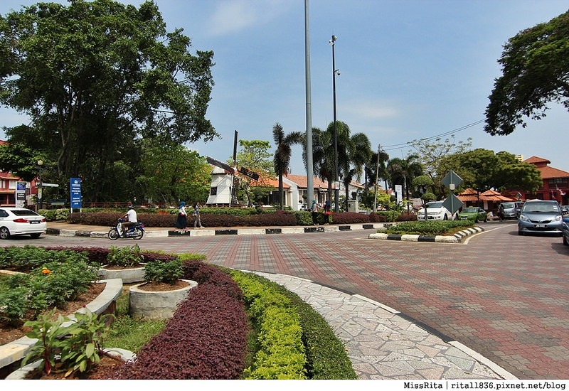 馬來西亞 麻六甲 馬六甲景點 荷蘭紅屋廣場 聖保羅堂St. Paul's Church 馬六甲蘇丹王朝水車 海上博物館2