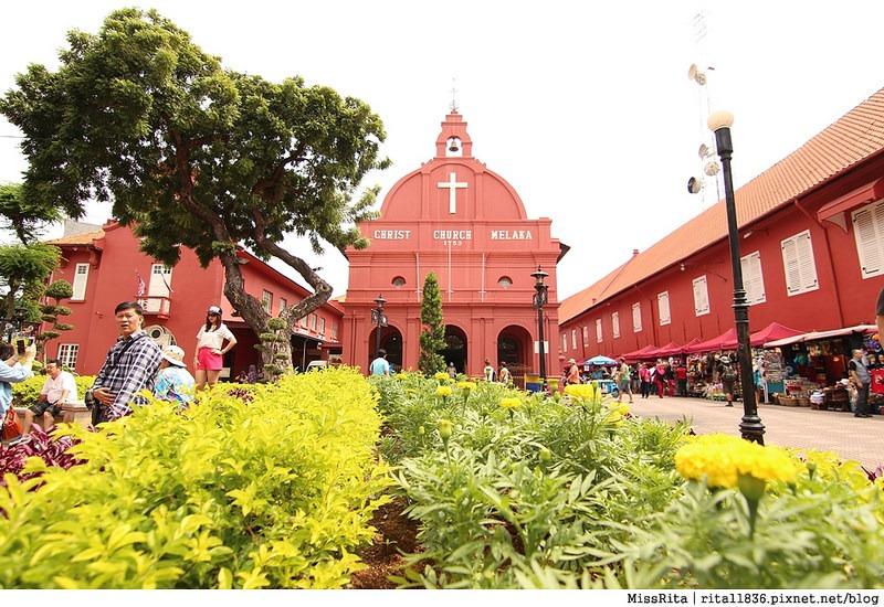 馬來西亞 麻六甲 馬六甲景點 荷蘭紅屋廣場 聖保羅堂St. Paul's Church 馬六甲蘇丹王朝水車 海上博物館31