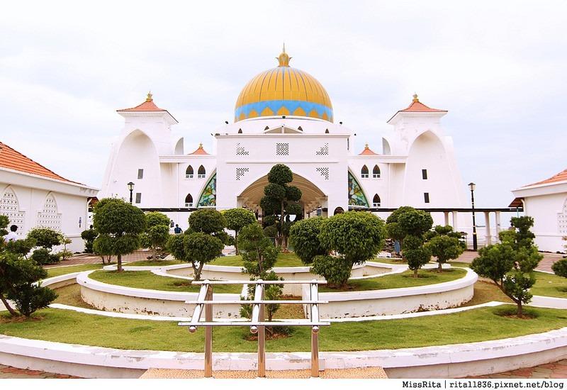 馬來西亞 麻六甲 馬六甲景點 Malacca Straits Mosque 清真寺 海上清真寺 Masjid Selat Melaka Pulau Melaka2