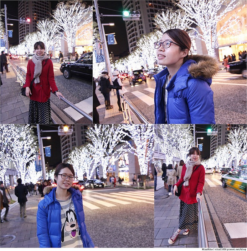 日本東京 東京夜景 六本木之丘 六本木Hills 六本木夜景 Tokyo city view 櫸樹坂大道 東京聖誕點燈 2014東京點燈