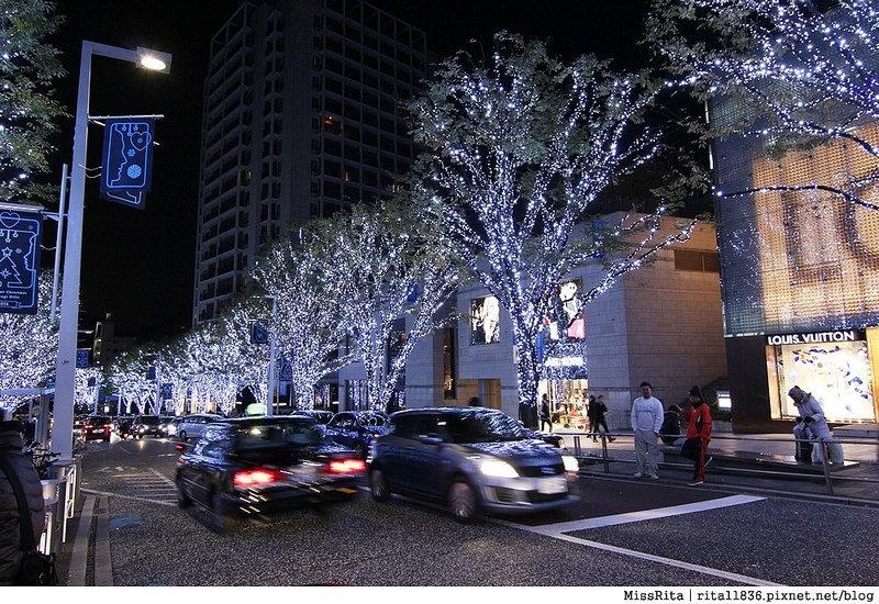 日本東京 東京夜景 六本木之丘 六本木Hills 六本木夜景 Tokyo city view 六本木大道 東京聖誕點燈 2014東京點燈17