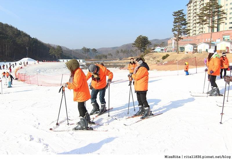 韓國滑雪 韓國滑雪度假村 韓國滑雪場 奧麗山莊渡假村 Oak Valley Oak Valley滑雪場 江原道滑雪 韓國滑雪推薦 오크밸리스키장34