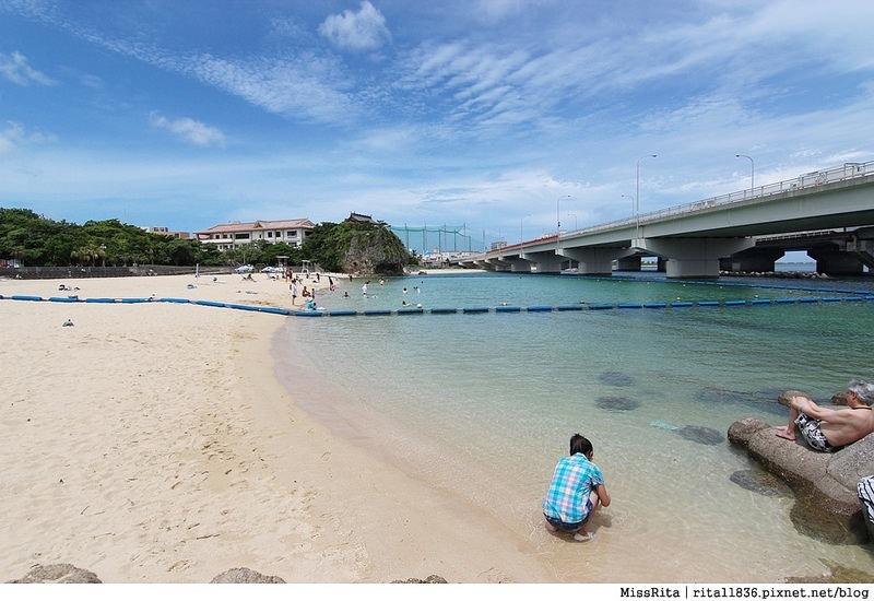 沖繩景點 那霸景點 沖繩海灘 波之上海灘 波之上神宮 那霸海灘 沖繩玩水 波の上ビーチ 波上宮8