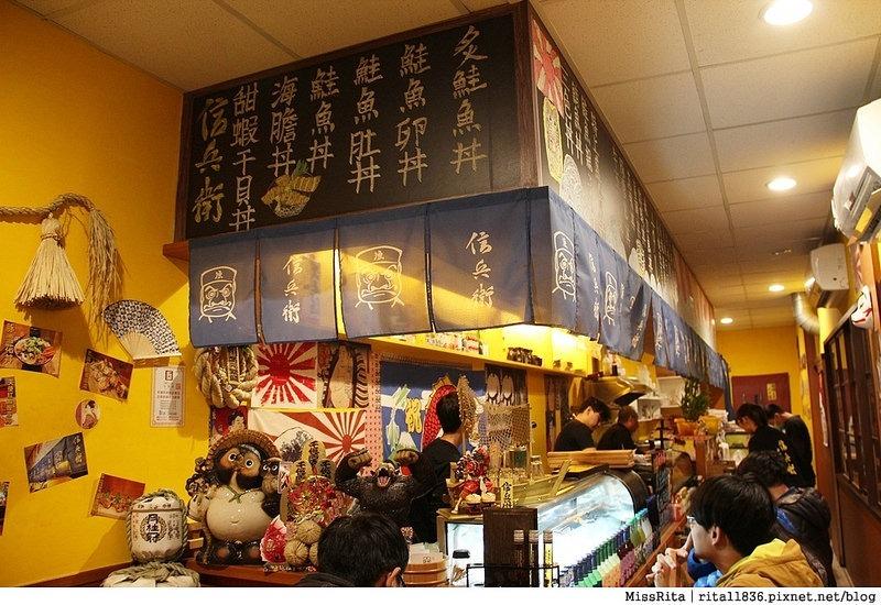 台中好吃 台中丼飯 好吃丼飯 信兵衛 信兵衛手作丼飯壽司 台中平價美食 鮭魚丼 牛肉握壽司5
