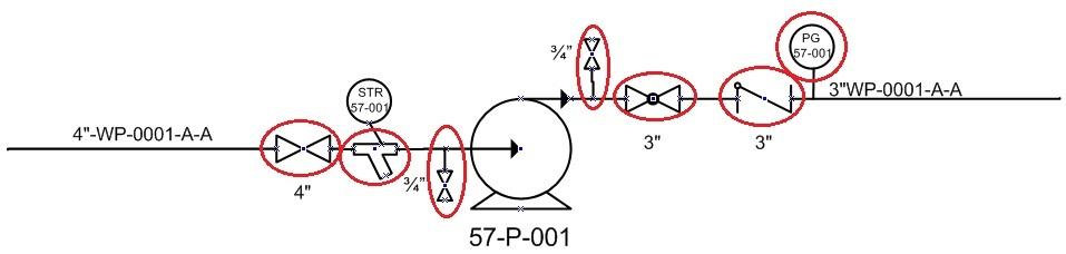 typical arrangement of pump in pampid