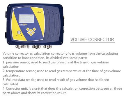 Volume corrector