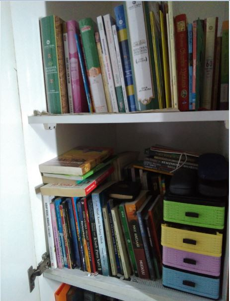 My books collection. Some of them are actually for sale