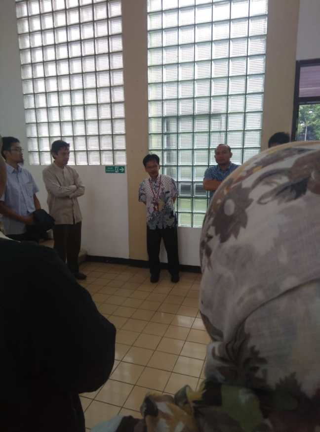 Officer from Tirtawening Drinking Water Treatment Plant explained production process