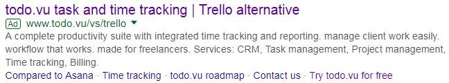 Todo.vu alternative to Trello
