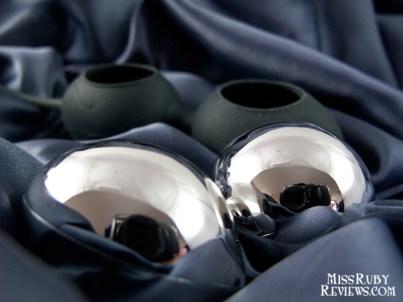 Removable plastic balls