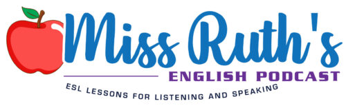 Miss Ruth's English
