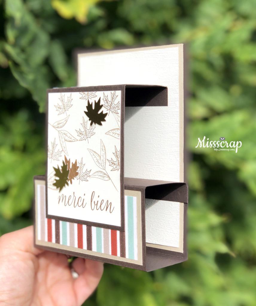 flat fold card