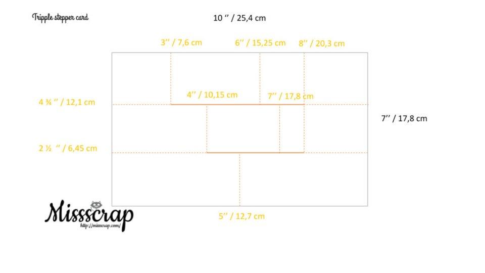 tripple stepper card