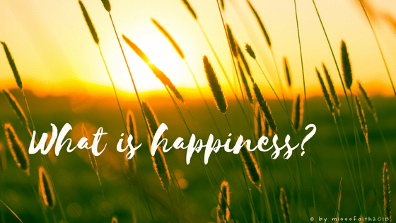 What is happiness_