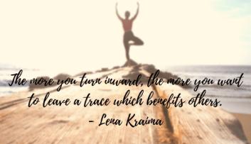 The more you turn inward