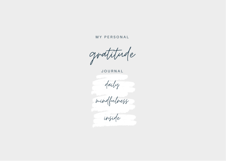 my personal gratitude journal