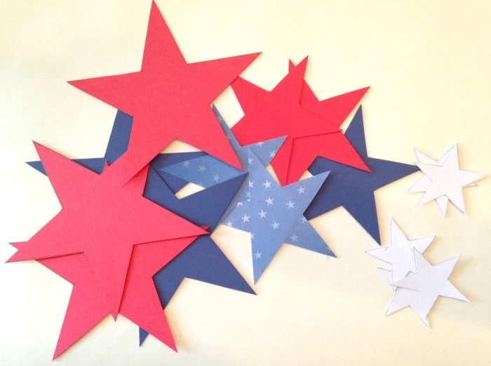 DIY Patriotic Star Wand