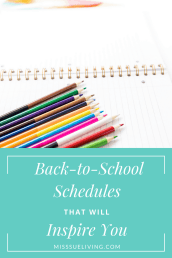 Approved Back To School Schedules That Will Inspire You