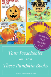 Your Preschooler Will Love These Pumpkin Books