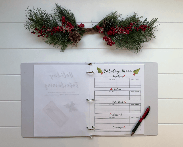Organizing Your Best Holiday Season Ever 2017, holiday planner, christmas planner, planner printables, holiday organizer, holiday planner printables, printable holiday planner 2017, christmas planner printables 2017