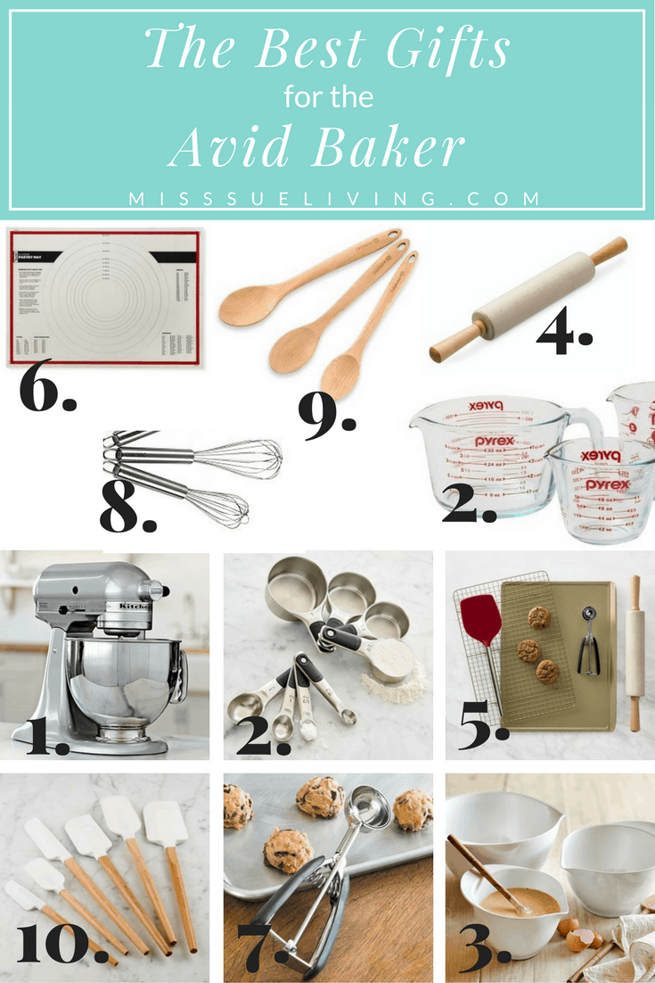 The Best Gifts for the Avid Baker, gift guide, baker gift guide, gifts for the baker, what to buy a baker, #giftguide #bakergifts
