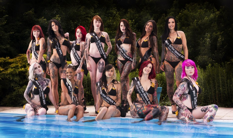 Photo officielle Miss Tattoo France 2019