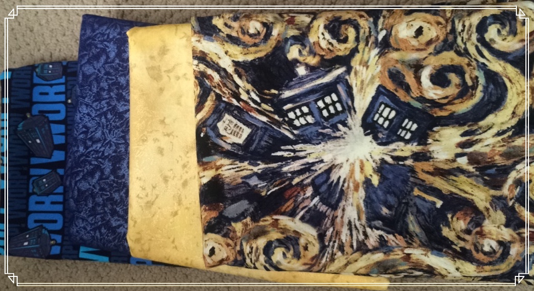 The Dr Who Lap Quilt Step By Step Miss Teddeh