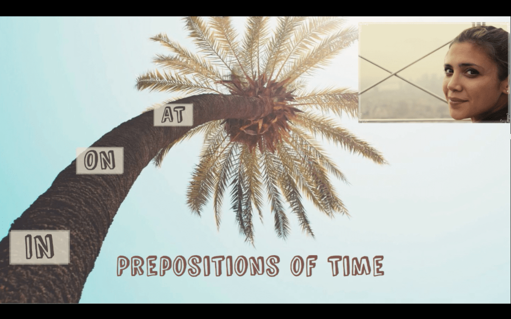 Prepositions of Time - Предлози за време