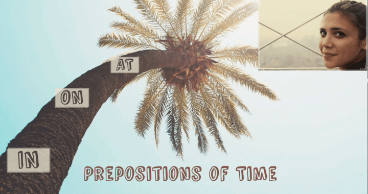 Prepositions of Time – Предлози за време