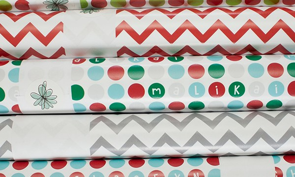 Custom Christmas Gift Wrap!?!