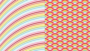 Little Rainbows Pattern CU Freebie | MissTiina com
