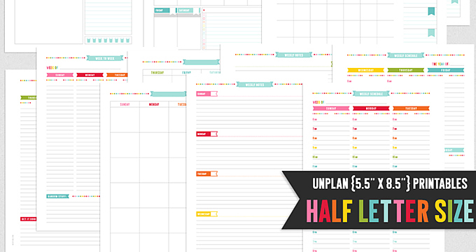 UNplan Pages – now in Half Size!