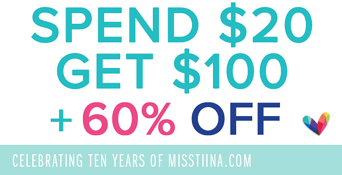Celebrating 10 Years of MissTiina.com!