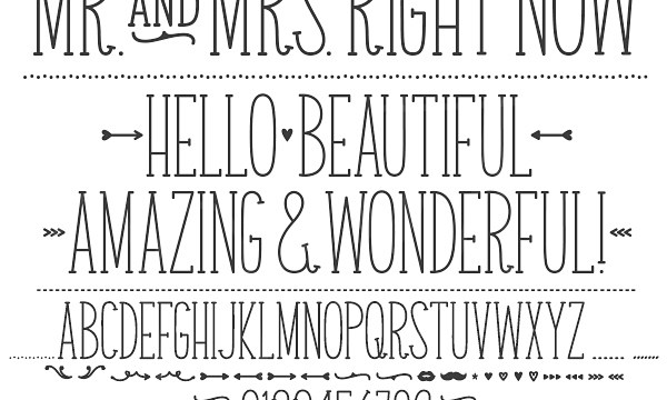Hello Sunshine Giveaway Winner and a NEW Font