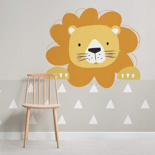 Nursery Wallpaper - Larry