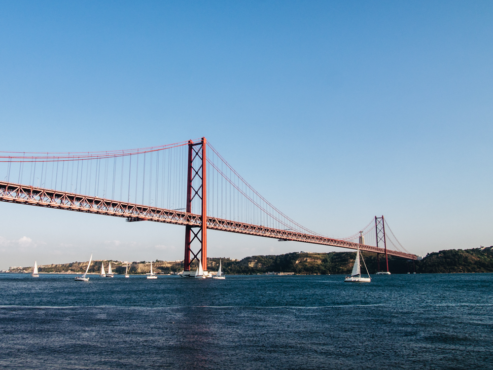 Ponte 25 de Abril, Lisbon, Portugal