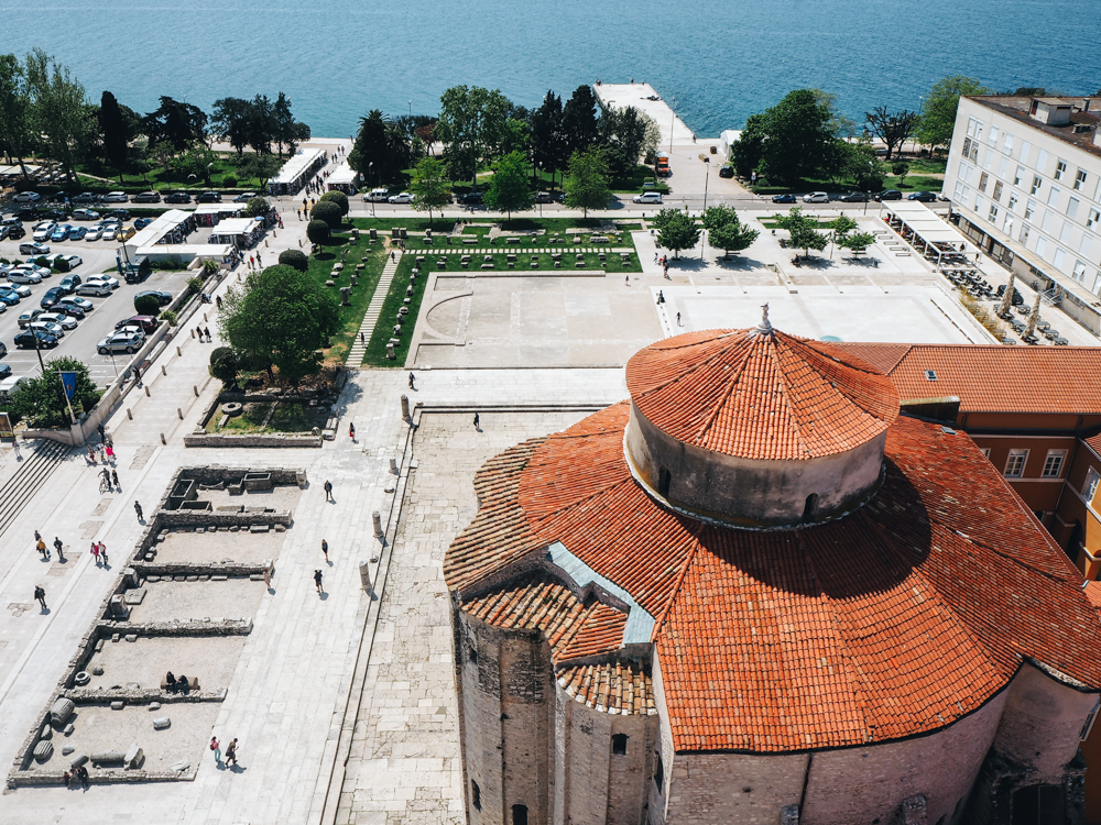 View from the Bell Tower, Zadar
