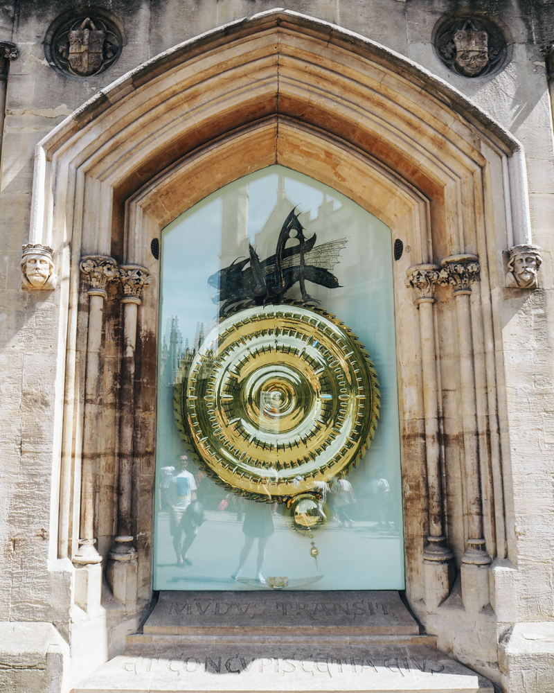 Corpus Clock, Cambridge