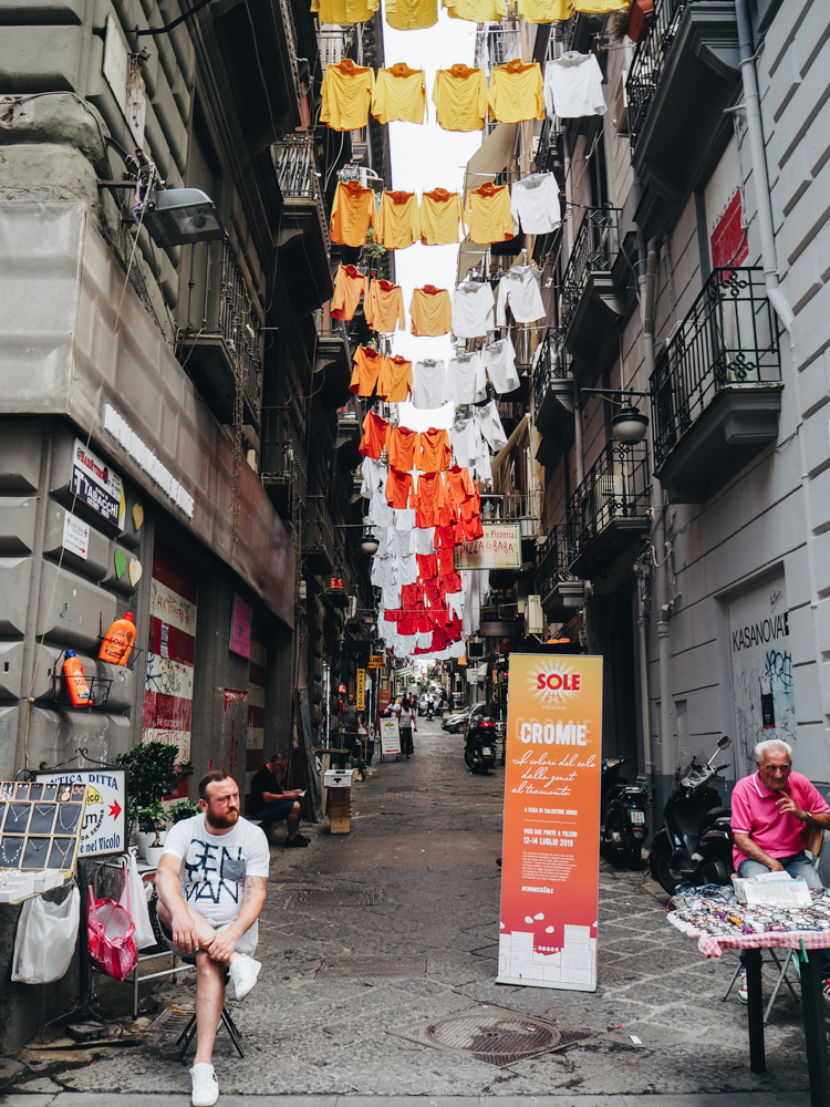 Španělská čtvrť v Neapoli