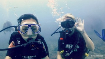 Under the waters of Andaman sea