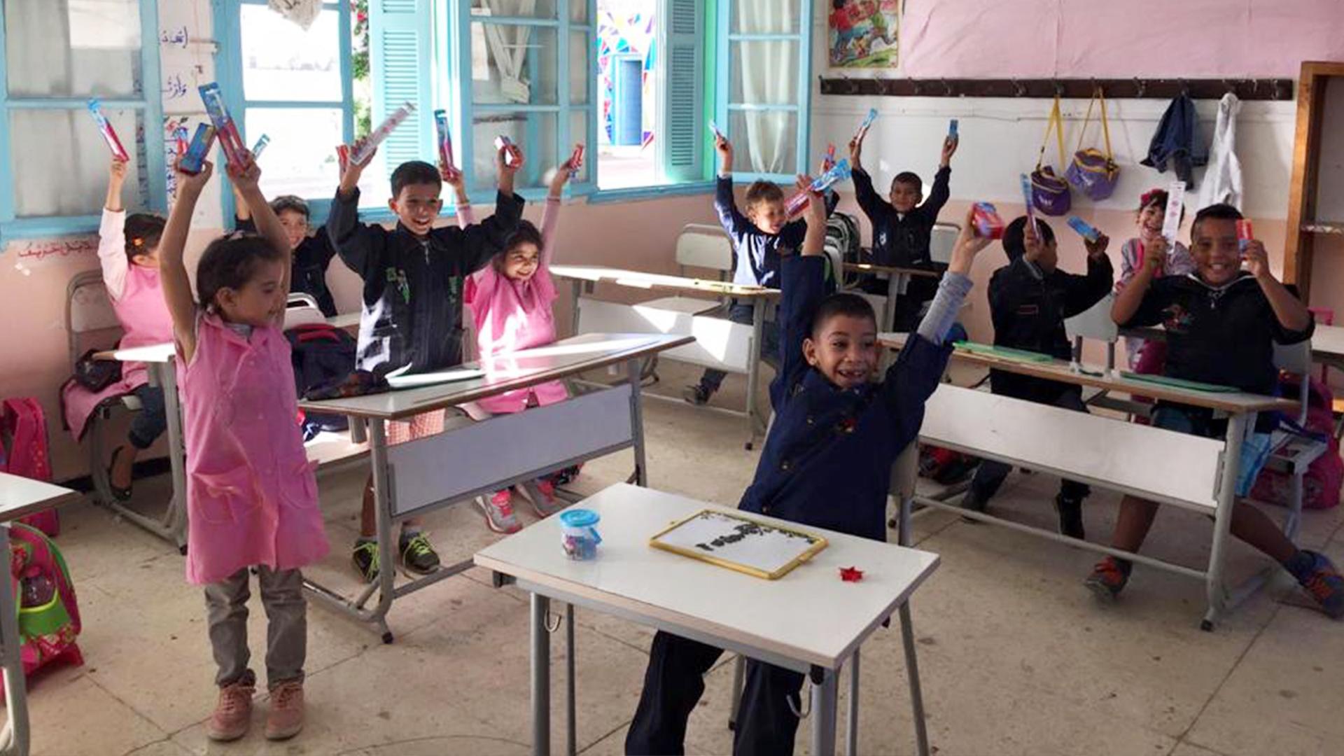 Action de rénovation Ecole El Rawdha (14) - Sabrine Khalifa Mansour