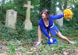 Cheerleader Buffy doing a 3-point-landing in a graveyard. I don't know how much more epic I can be for you people.