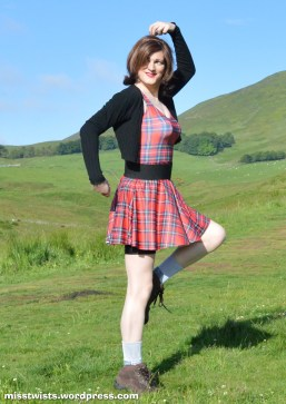 """Everything about this picture says """"Scottish cross-dresser""""."""