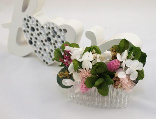 Peina de flores preservadas Senda