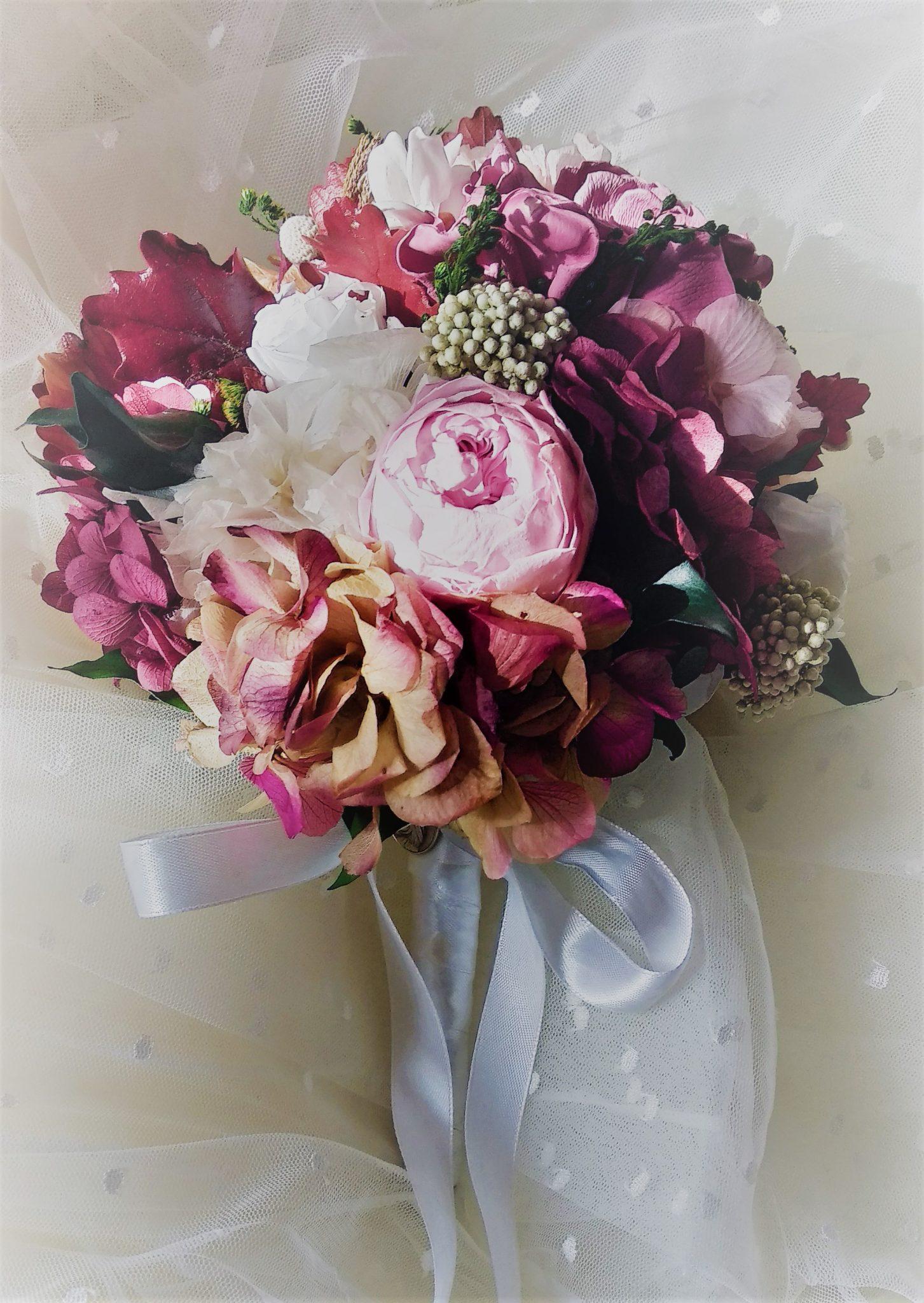 Ramo de novia flores preservadas Sweet Child 3