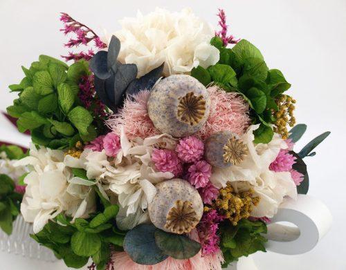 Ramo de novia flores preservadas Senda
