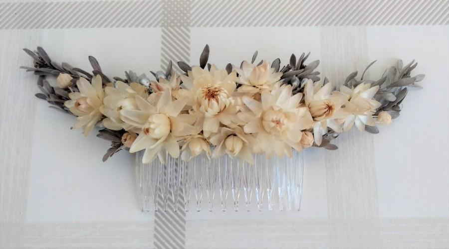 peina flor preservada