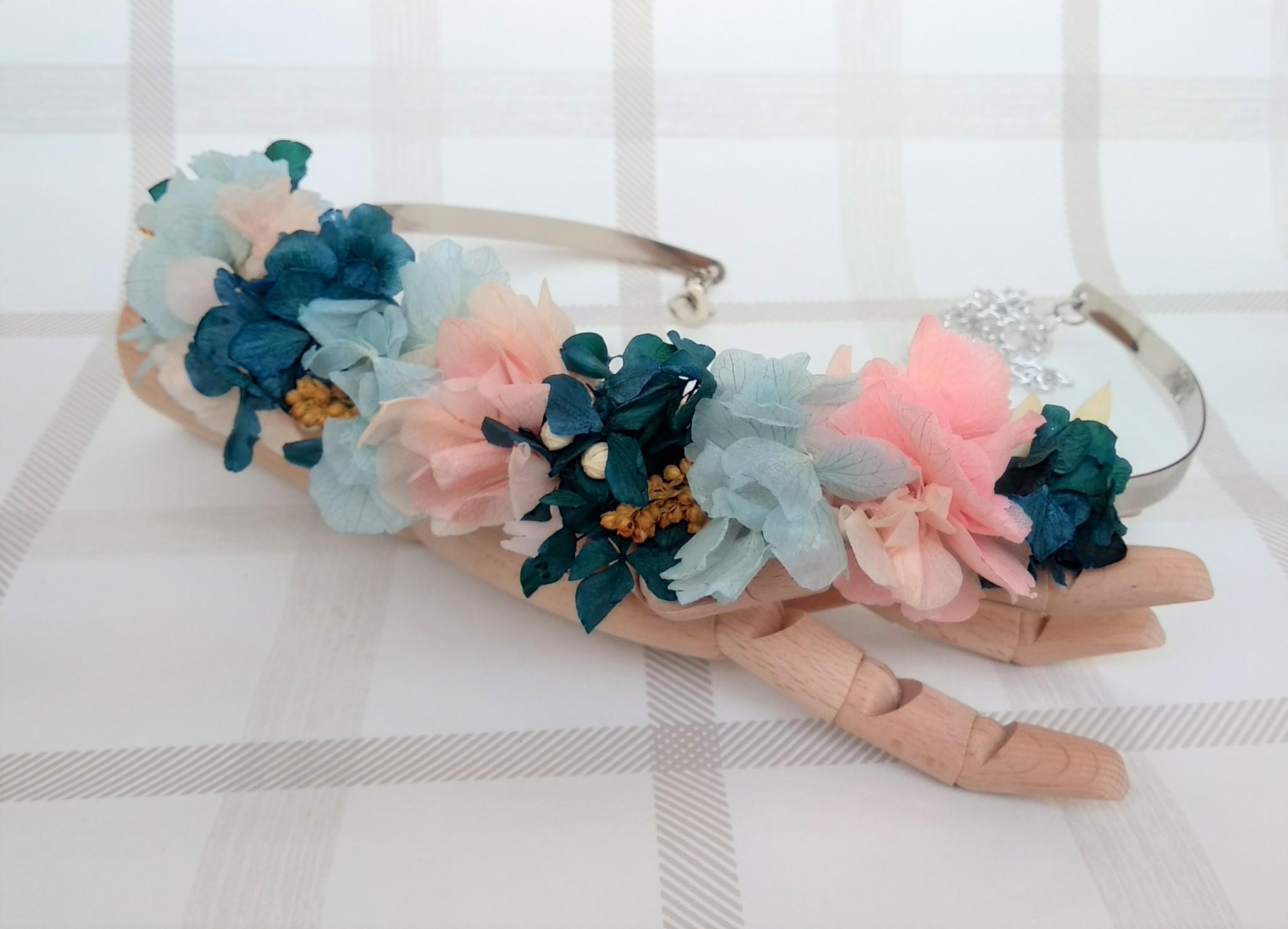 flor preservada cinturon