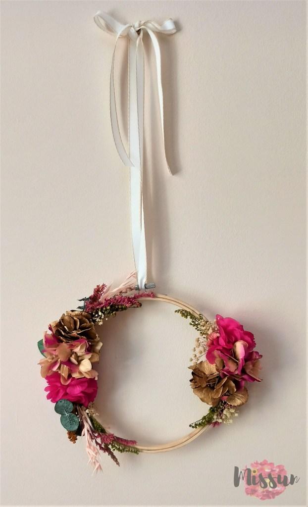 bastidor flor preservada